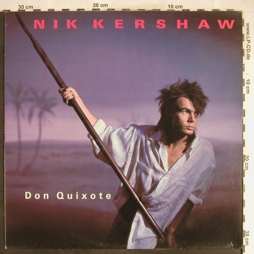 Kershaw,Nik: Don Quixote/Don't Lie, MCA(NIKT 8), UK, 1984 - 12inch - A1125 - 3,00 Euro