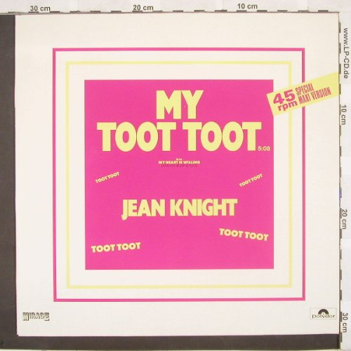 Knight,Jean: My Toot Toot+1, Mirage(), D, 85 - 12inch - A2757 - 4,00 Euro