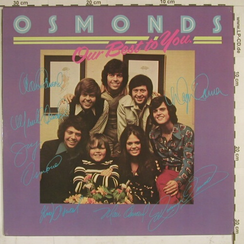 Osmonds: Our Best To You, MGM(2315 300), D, 73 - LP - A3318 - 9,00 Euro