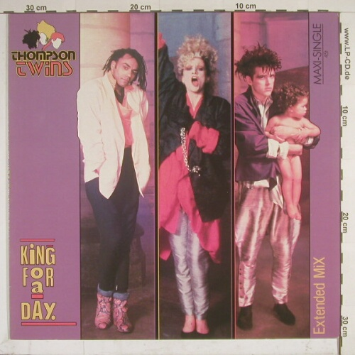 Thompson Twins: King For A Day(Ex)/Rollunder, Arista(602 107), , 85 - 12inch - A3404 - 2,50 Euro