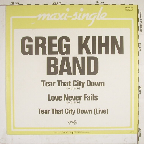 Kihn Band,Greg: Tear That City Down*2+1, Beserkley(96-6991-0), D,  - 12inch - A3409 - 5,00 Euro