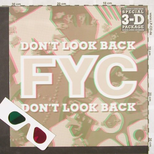 Fine Young Cannibals: Don't Look Back*2+1, 3-D, London(lonxg 220), UK, 1989 - 12inch - A3641 - 7,50 Euro