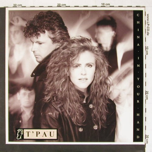 T'Pau: China In Your Hand*2+1, Virgin(609576-213), D, 1987 - 12inch - A5971 - 2,00 Euro