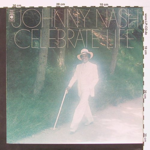 Nash,Johnny: Celebrate Life, CBS(80039), UK, 74 - LP - A6737 - 6,00 Euro