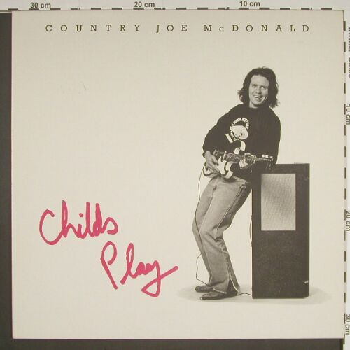 Country Joe Mc Donald: Childs Play, Line(6.26051 AP), D, 83 - LP - A7669 - 5,00 Euro