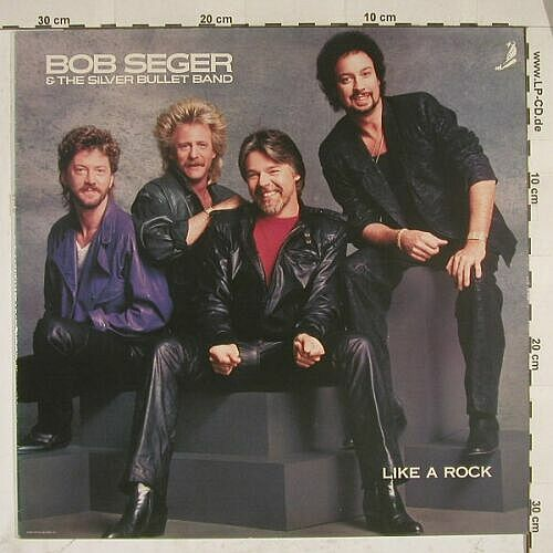 Seger,Bob & Silver Bullet Band: Like A Rock, Capitol(24 0528 1), NL M-VG+, 86 - 12inch - A7801 - 2,50 Euro