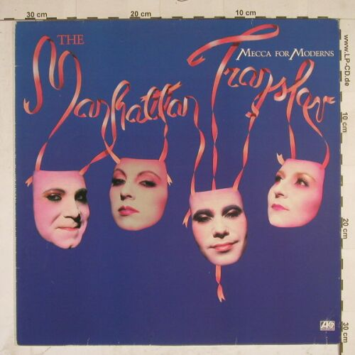 Manhattan Transfer: Mecca For Moderns, Atlantic(MM 5634), N, 1981 - LP - A7886 - 5,00 Euro