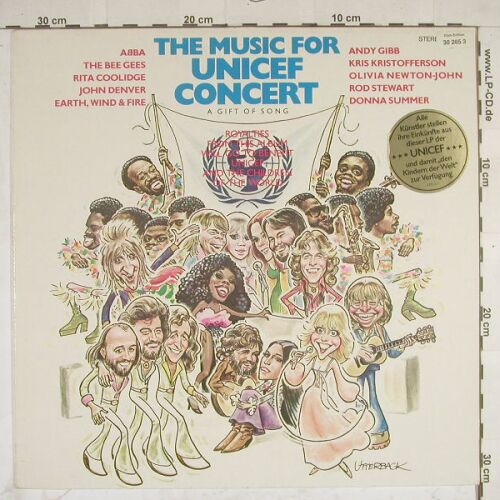 V.A.The Music For Unicef Concert: 10 Tr., Polydor(2335 214), D, 79 - LP - A7947 - 5,00 Euro
