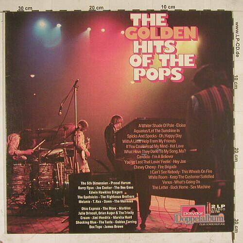 V.A.The Golden Hits Of The Pops: 24 Tr.,Foc,DSC-Ed., Polyd.(62 799), D,  - 2LP - A8499 - 5,00 Euro