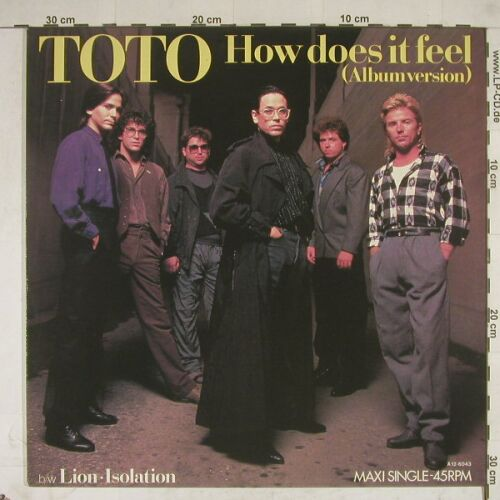 Toto: How Does It Feel(alb) +2, CBS(A 12.6043), NL, 84 - 12inch - A8716 - 4,00 Euro