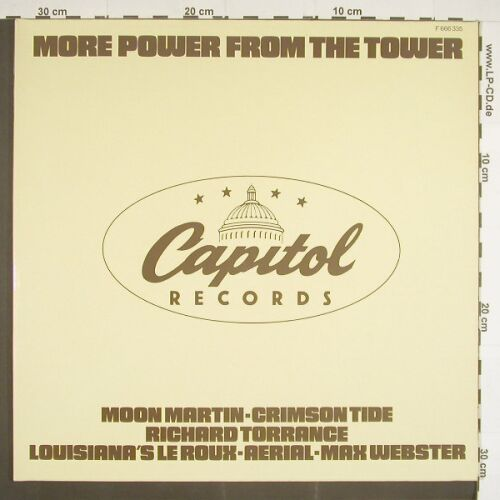 V.A.More Power from the Tower: 12 Tr, Foc, Capitol(F 666 335), D, 78 - LP - A9370 - 6,00 Euro