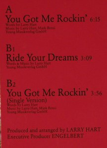 Hart,Larry: You got me Rockin'*2+1, White(609 984), D, 88 - 12inch - A9683 - 2,50 Euro