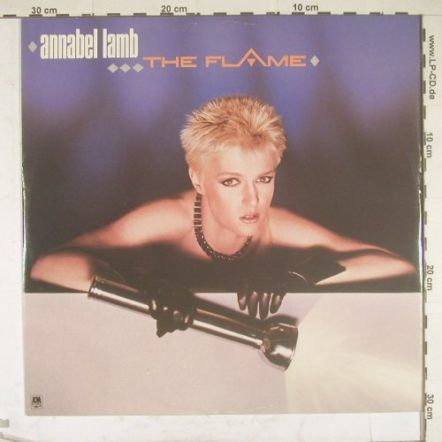 Lamb,Annabel: The Flame+2, AM(AMX 182), UK, 1984 - 12inch - B1916 - 2,50 Euro