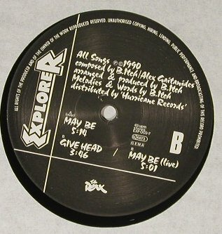 Roxx: May Be*2+1, Explorer(exp003-7), UK, 1990 - 12inch - B1979 - 5,00 Euro