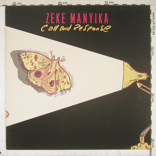 Manyika,Zeke: Call And Responde, Polydor(823 053-1), D, 85 - LP - B2389 - 6,00 Euro