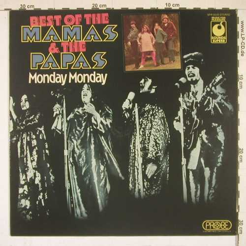 Mamas & Papas: Monday Monday-Best Of, MFP(SPR 90025), UK,  - LP - B2755 - 6,00 Euro