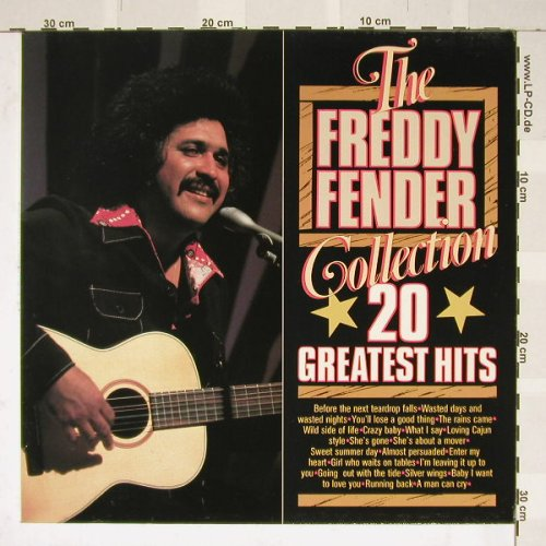 Fender,Freddy: Collection 20 Greatest Hits, Masters(003684), NL,  - LP - B3107 - 5,00 Euro