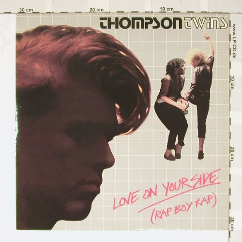Thompson Twins: Love On Your Side(RapBoyRap)*2, Arista(12 504), UK, 83 - 12inch - B3372 - 4,00 Euro