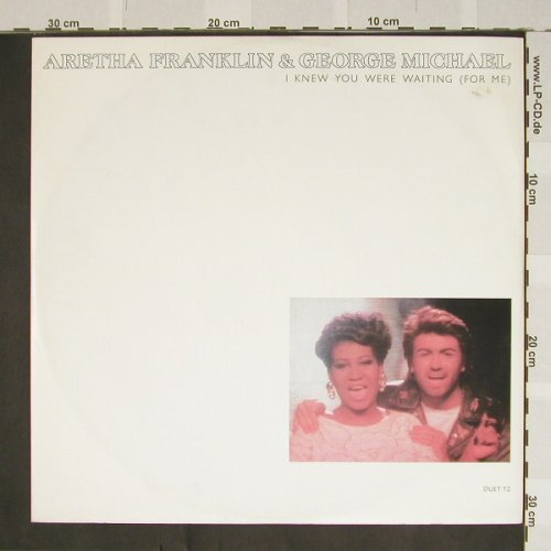 Franklin,Aretha & George Michael: I Knew you were Waiting,exremix+2, Epic(Duet12), NL, 86 - 12inch - B3983 - 3,00 Euro