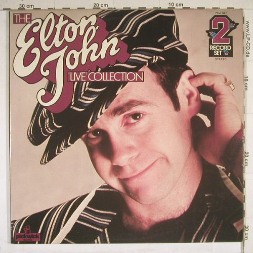 John,Elton: Live Collection,Foc, Pickwick(PDA 047), UK, 76 - 2LP - B4286 - 7,50 Euro