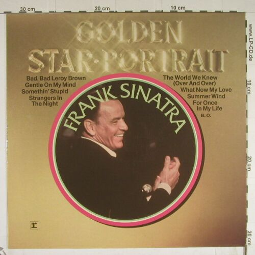 Sinatra,Frank: Golden Star Portrait, Reprise(54 034), D, 1975 - LP - B580 - 4,00 Euro