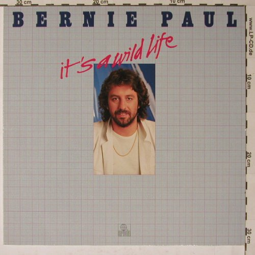 Paul,Bernie: It's A Wild Life, Ariola(203 766-320), D, 1981 - LP - B6132 - 4,00 Euro