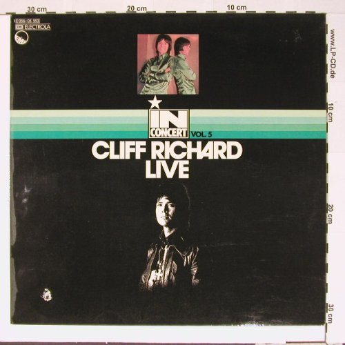 Richard,Cliff: In Concert, Vol.5 , Live, co, Ri, EMI(C 056-05 553), D,  - LP - B6659 - 5,00 Euro