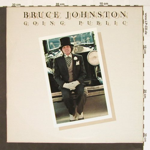 Johnston,Bruce: Going Public, m-/vg+, CBS(81854), NL, 77 - LP - B7792 - 3,00 Euro