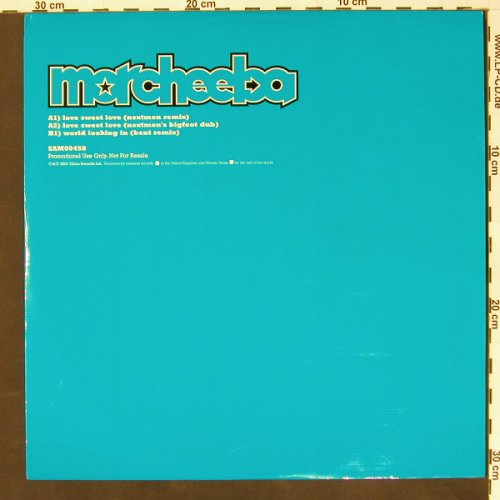 Morcheeba: Love Sweet Love*2+1,Promo, China(00458), , 01 - 12inch - B8065 - 4,00 Euro