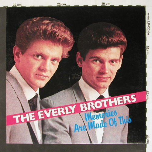 Everly Brothers: Memories Are Made Of This, WorldMusic(31081), EEC,  - LP - B8353 - 3,00 Euro