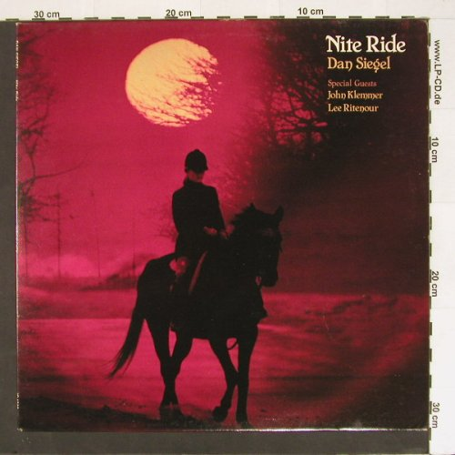 Siegel,Dan: Nite Ride, Inner City(IC 1046), US, 1980 - LP - B8573 - 6,00 Euro