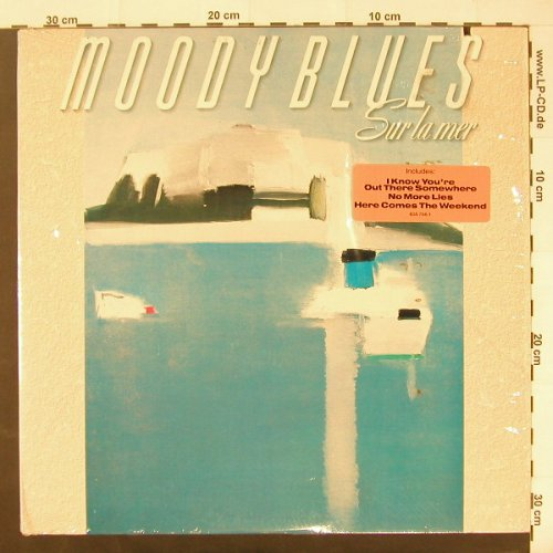 Moody Blues: Sur La Mer, co, Polyd.(835 756-1), US, 1988 - LP - C1877 - 5,00 Euro