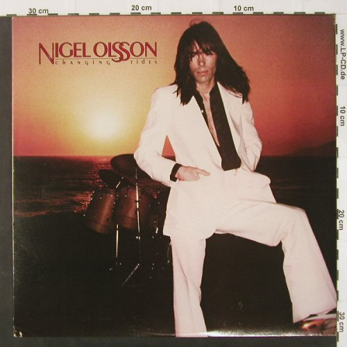 Olsson,Nigel: Changing Tides-Promo,Plug Copy, Bang Rec(JZ 36491), US, 80 - LP - C2043 - 7,50 Euro