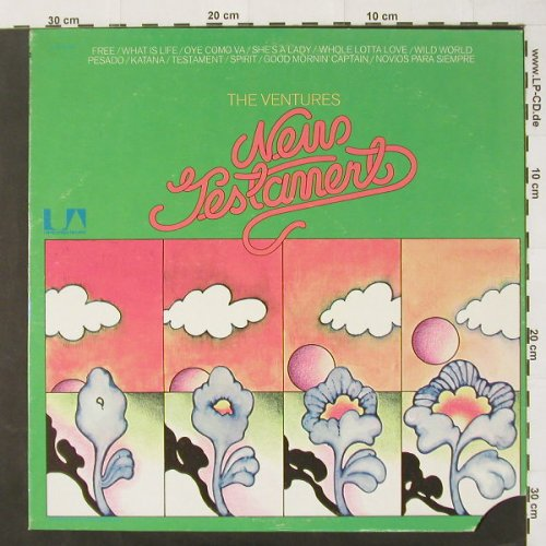 Ventures: New Testament, co, UA(S-6796), US, 1971 - LP - C2083 - 7,50 Euro