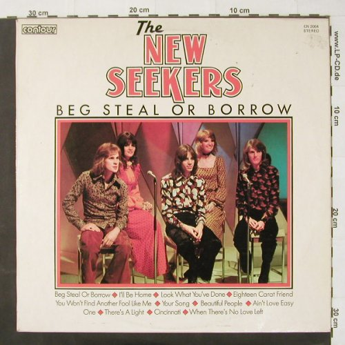 New Seekers,The: Beg Steel Or Borrow, Contour(CN 2004), UK,  - LP - C2379 - 5,00 Euro