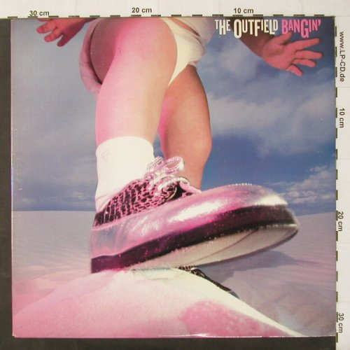 Outfield,The: Bangin', Columbia(C40619), US, 87 - LP - C2484 - 3,00 Euro