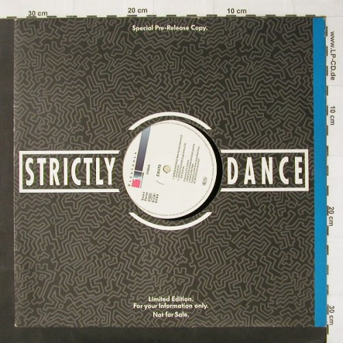 Zikato: Scream and Dance*2+2, FLC, Electrola(), D, 1992 - 12inch - C2591 - 2,00 Euro