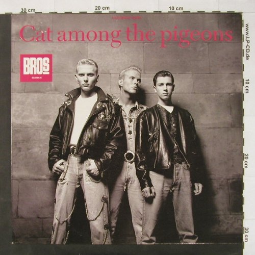 Bros: Cat Among The Pigeons+3, CBS(653166 6), NL, 1988 - 12inch - C2616 - 2,00 Euro