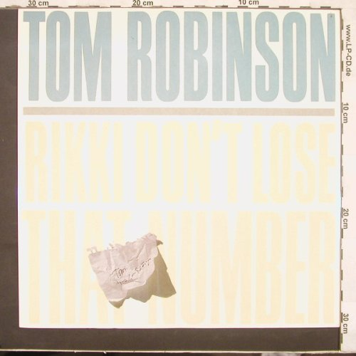 Robinson,Tom: Riki Don't Lose That Number+1, Castaway(TRT 2), UK, 84 - 12inch - C2659 - 2,50 Euro