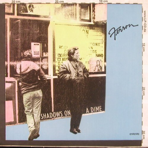 Ferron: Shadows On A Dime, Entente(12-3076), D, 87 - LP - C2676 - 5,00 Euro