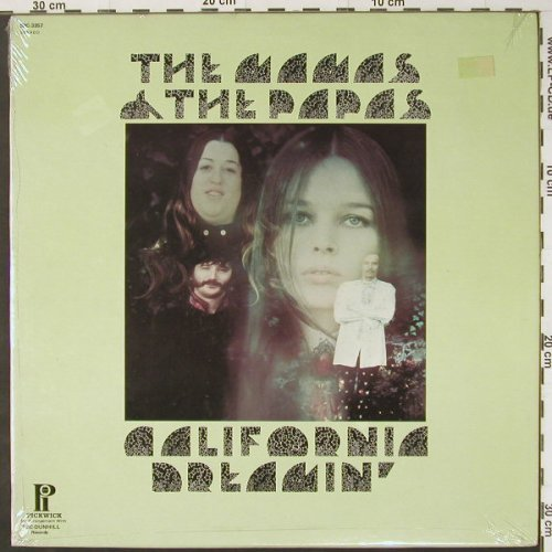 Mamas & Papas: California Dreaming,Ri, FS-New, Pickwick(SPC-3357), US,  - LP - C2936 - 7,50 Euro