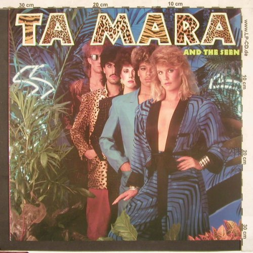 Ta Mara & The Seen: Same, AM(395 078), D, 1985 - LP - C3489 - 5,00 Euro
