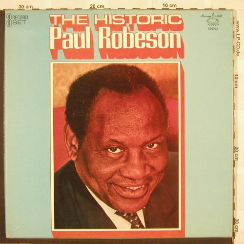 Robeson,Paul: The Historic,Box, MurrayHill(959062), US,  - 3LP - C388 - 9,00 Euro