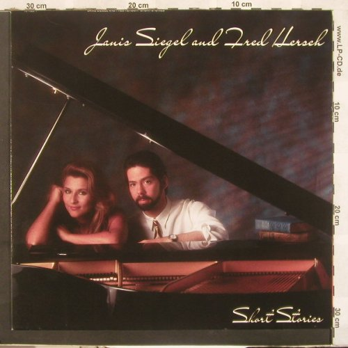 Siegel,Janis & Fred Hersch: Short Stories, Atlantic(781 989-1), D, 1989 - LP - C4010 - 6,00 Euro
