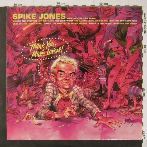 Jones,Spike: Thank You Music Lovers, RCAblack(NL 89057), D, 83 - LP - C4384 - 6,00 Euro