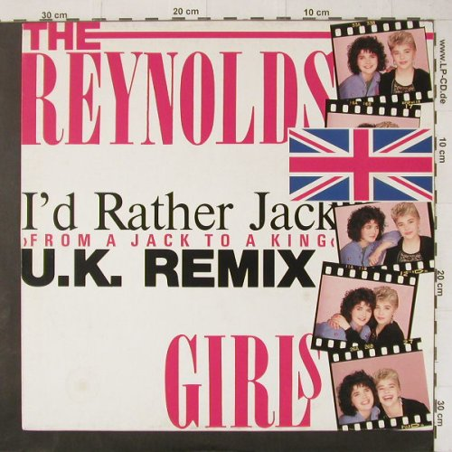Reynolds Girls,The: I'd Rather Jack*2, PWL(246 940-0 AE), D, 1989 - 12inch - C4478 - 3,00 Euro