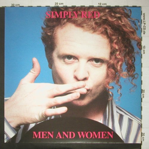 Simply Red: Men And Women,Facts,Foto,Bookl., WEA(WX85), D, 1987 - LP - C5006 - 9,00 Euro
