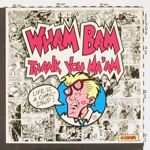 Wham Bam: Thank You Ma'am - U-Comix, Heartbeat(00102), D,  - LP - C529 - 5,00 Euro