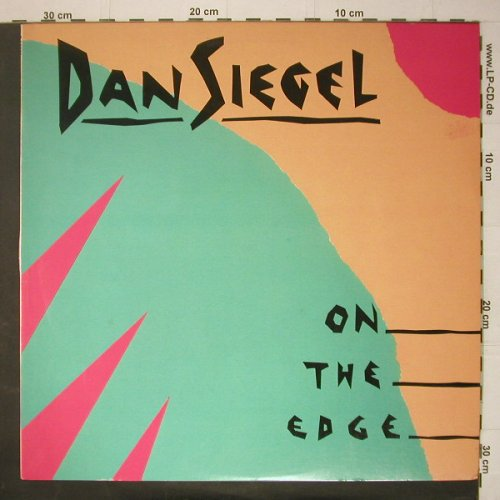 Siegel,Dan: On The Edge, Elektra(P-13230), J, 1985 - LP - C6013 - 7,50 Euro