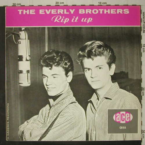 Everly Brothers: Rip It Up, Ri, ACE(CH 64), UK,  - LP - C7513 - 5,00 Euro